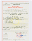 Certificate on fire prevention and fighting