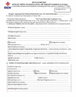 Application for opening account  - Customer information registration