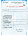 Amended certificate of tax registration